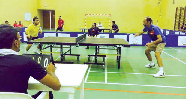 تأهل أندية السيب وعمان والاتفاق لتصفيات السلطنة لكرة الطاولة