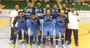 إثارة كبيرة تشهدها منافسات بطولة وزارة الشؤون الرياضية لكرة القدم للصالات