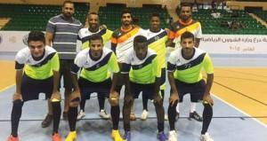 انطلاق منافسات خماسيات كرة القدم لوزارة الشؤون الرياضية