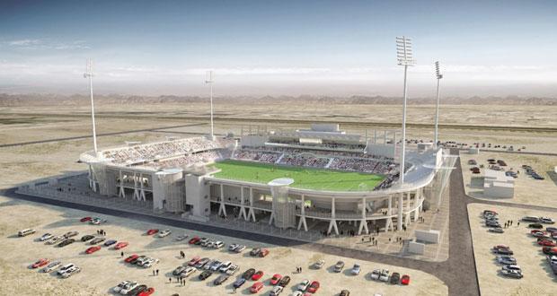 بدء تنفيذ مشروع المرحلة الثانية من توسعة مجمع السعادة الرياضي