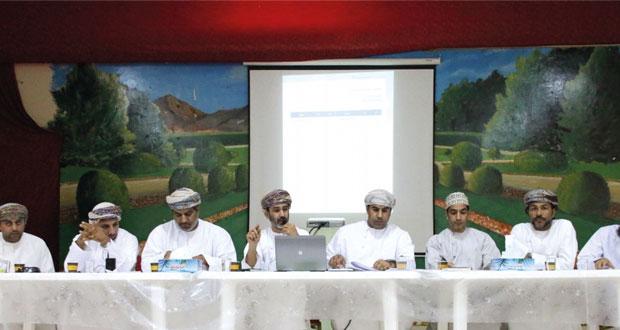 اجتماع الجمعية العمومية لنادي الرستاق