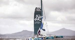 فريق عُمان للإبحار على متن القارب مسندم يكسر الرقم القياسي للإبحار حول أيرلندا
