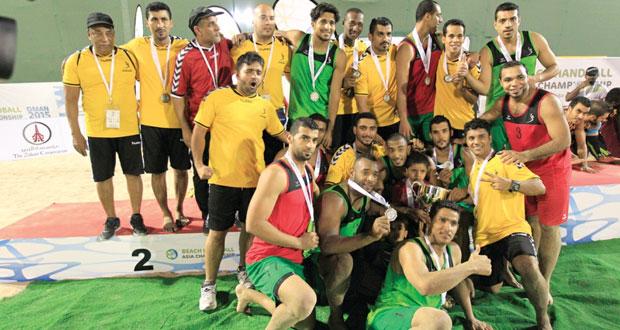 منتخبنا الوطني لكرة اليد الشاطئية يعيش أفراح الوصافة والتأهل لمونديال المجر
