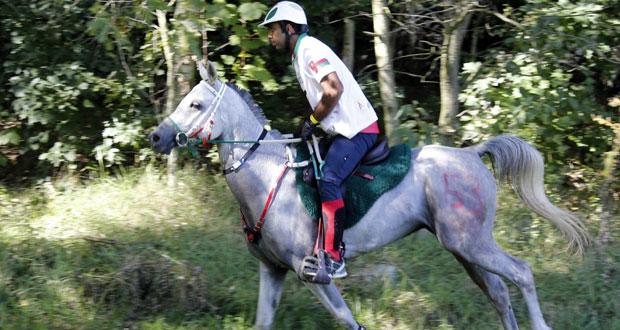 عبدالله السيابي يجتاز سباق ويندسور البريطاني للقدرة