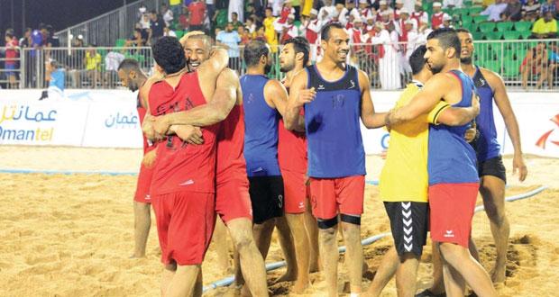 في البطولة الآسيوية لكرة اليد الشاطئية .. منتخبنا يكسب باكستان ويستعيد الأمل في حجز بطاقة التأهل إلى المونديال