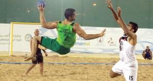 في البطولة الآسيوية لكرة اليد الشاطئية..ضربات الجزاء ترجح كفة المنتخب البحريني على حساب منتخبنا الوطني