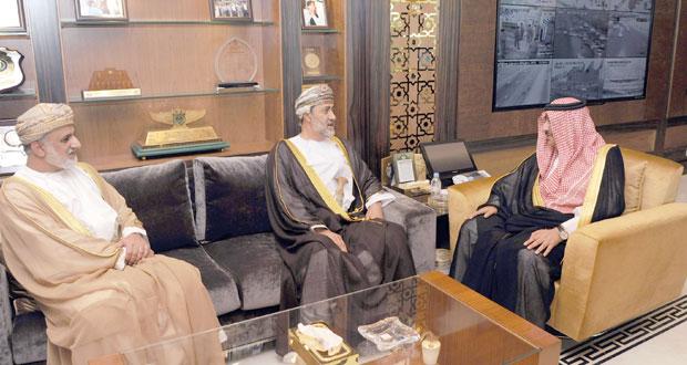 مبعوثا لجلالة السلطان .. هيثم بن طارق في السعودية لتهنئة ولي العهد