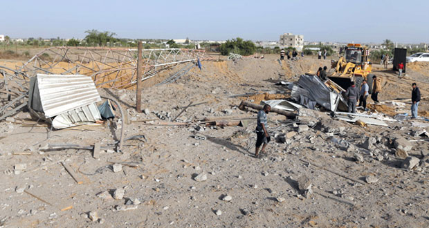 الاحتلال يشن 4 غارات على غزة