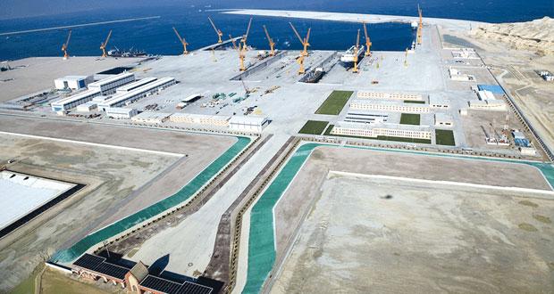 (الدقم): (البنية الأساسية) تقترب من الانتهاء بتكلفة 1.7 مليار ريال عماني