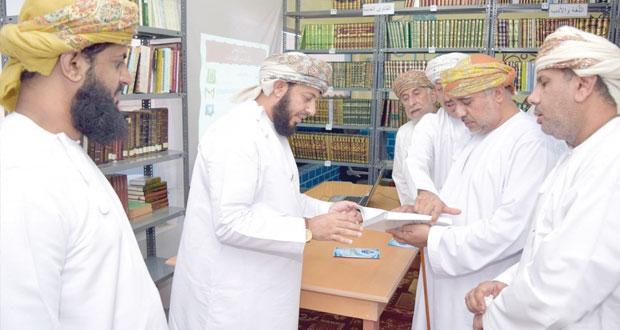شناص تشهد افتتاح مكتبتها الأهلية العامة