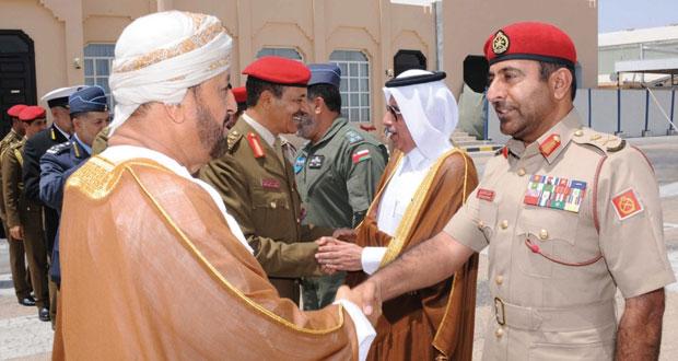 بدر بن سعود يتوجه إلى دولة قطر