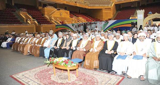 جامعة السلطان قابوس تحتفل بالذكرى السنوية الخامسة عشرة