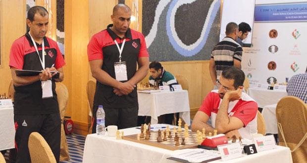 """في تصفيات البطولة الآسيوية المؤهلة إلى كأس العالم """"زونل"""" للشطرنج"""