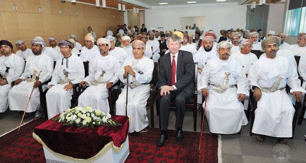 (تنمية نفط عمان) تحتفل بالذكرى الثانية للزيارة السامية