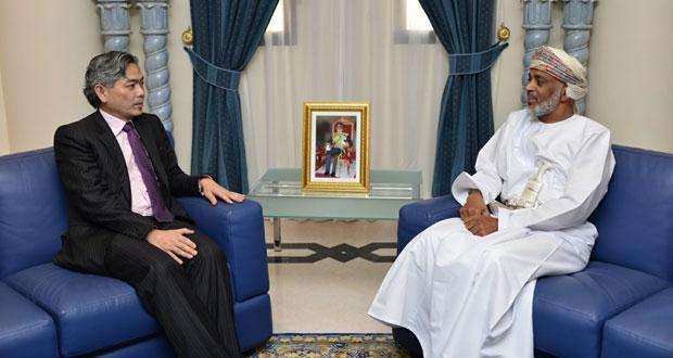 محمد الراسبي يستقبل النائب الدائم الثاني لوزارة الخارجية السنغافورية