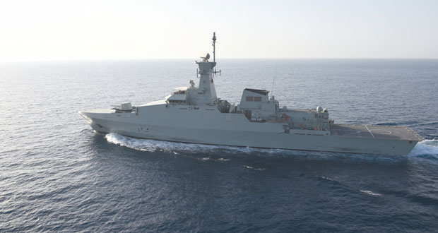 البحرية السلطانية العمانية تختتم التمرين البحري المشترك (خنجر حاد)