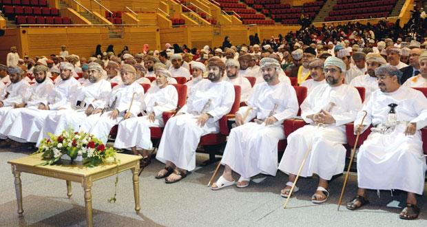 المرهون يكرم الفائزين في مسابقة القرآن الكريم (رتّل وارتق) بولاية بوشر