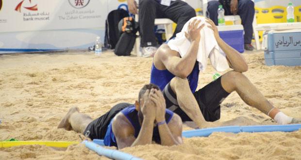 في البطولة الآسيوية لليد الشاطئية .. منتخبنا يخسر أمام إيران ويضع نفسه في موقف صعب أمام باكستان