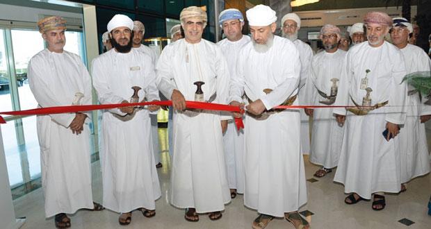 السالمي يفتتح معرض (التسامح والتفاهم والتعايش: رسالة الإسلام في السلطنة) بشركة تنمية نفط عمان