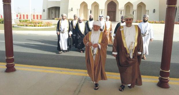 السلطنة تشارك في اللقاء الدوري الثاني لرؤساء المحاكم العليا والتمييز بدول المجلس