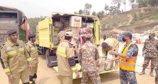 الفريق الوطني للبحث والإنقاذ يعود من نيبال عقب مشاركته في عمليات الانقاذ