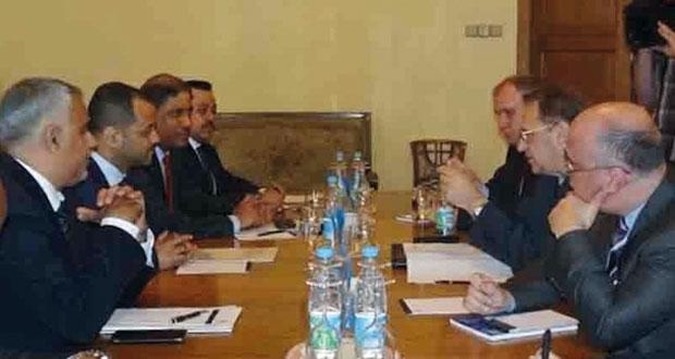 وزير الخارجية الروسي يستقبل الأمين العام لوزارة الخارجية