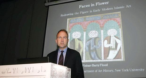 """فلود يحاضر حول """"إعادة رسم الشخوص في بواكير الفن الإسلامي الحديث"""""""