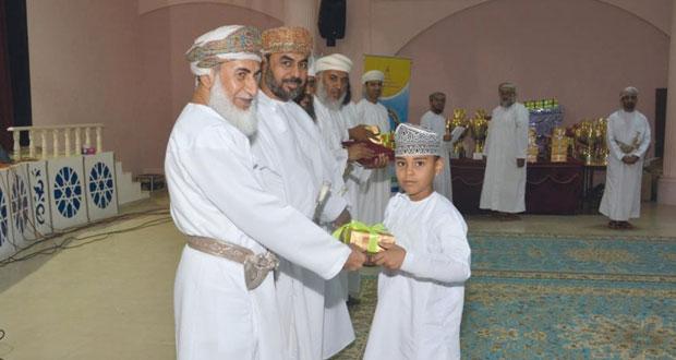تكريم الفائزين بمسابقة القرآن الكريم بتعليمية شمال الشرقية