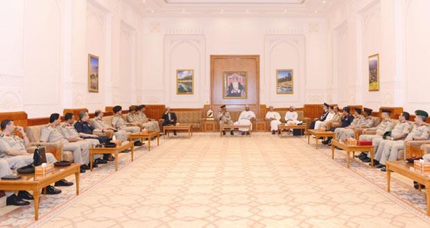 وفد أكاديمية ناصر العسكرية العليا يزور مجلس الدولة