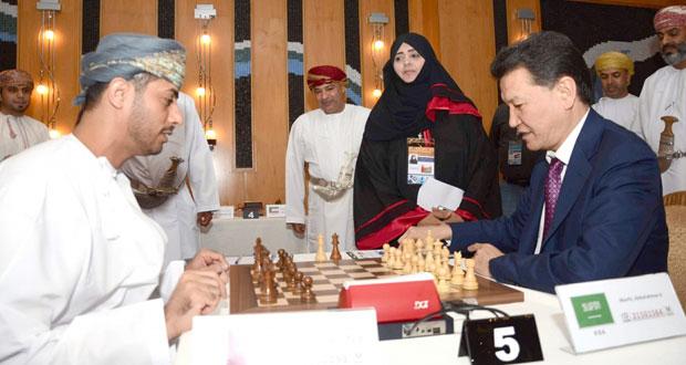 على أرض السلطنة .. آسيا تتنافس لبلوغ مونديال الشطرنج