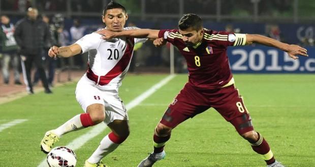 البيرو تهزم فنزويلا وتخلط الأوراق في المجموعة الثالثة