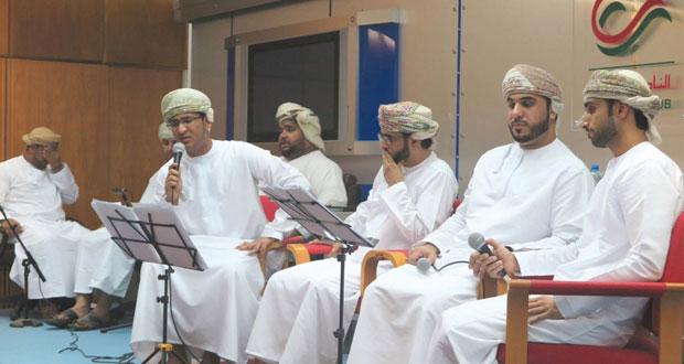 قصائد الشعراء الصوفيين في أمسية إنشادية بالنادي الثقافي