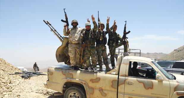سوريا: الجيش يعد بالسيطرة الكاملة على القلمون والإرهاب يقصف حلب