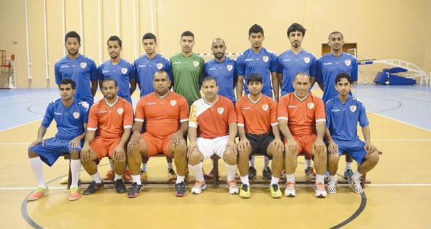 منتخب الصالات في معسكر تدريبي استعدادا لبطولة الخليج