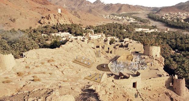 """""""الحارات العمانية القديمة"""" .. ثروة وطنية وإرث حضاري عماني عريق"""