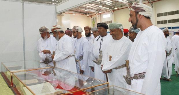 """افتتاح معرض """"نزوى تاريخ وحضارة"""" بجامعة نزوى"""