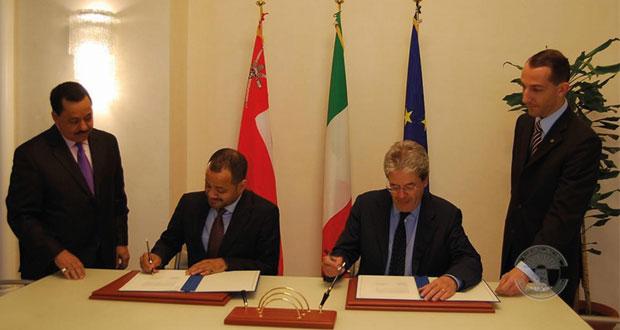 السلطنة وإيطاليا تؤكدان على تعزيز التعاون الاقتصادي وضرورة استغلال الفرص الاستثمارية