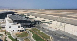 غدا.. الاحتفال بتشغيل مطار صلالة الجديد