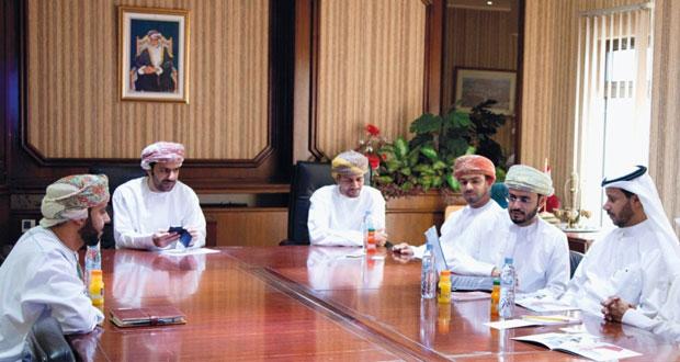 وفد من الهيئة العامة للصناعة الكويتية يزور المؤسسة العامة للمناطق الصناعية