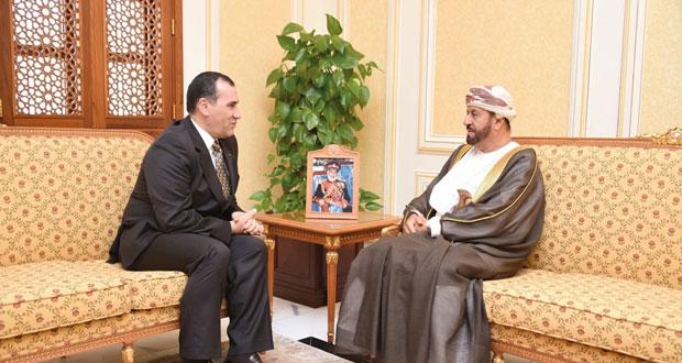 بدر بن سعود يستقبل السفير الأردني