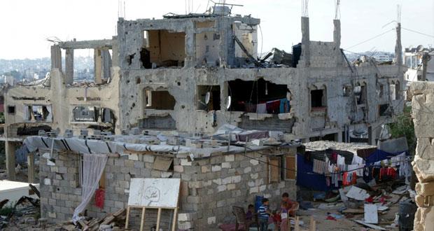 حقوقيون يوثقون الخسائر التي لحقت بغزة خلال عدوان الاحتلال