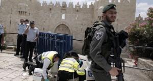 استشهاد شاب فلسطيني بجراح بعد طعنه جنديا إسرائيليا في القدس المحتلة