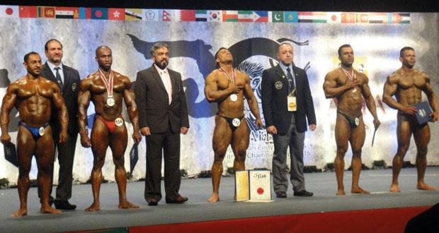 في البطولة الآسيوية لبناء الأجسام باليابان.. ثلاث ميداليات حصيلة المنتخب الوطني في ختام البطولة