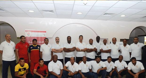 اتحاد كرة القدم ينظم دورة لمدربي حراس المرمى المستوى الأول