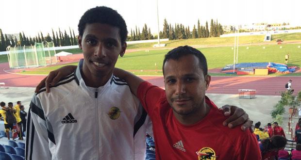 الحبسي يكسب فضية الوثب الطويل في البطولة العربية للناشئين بتونس