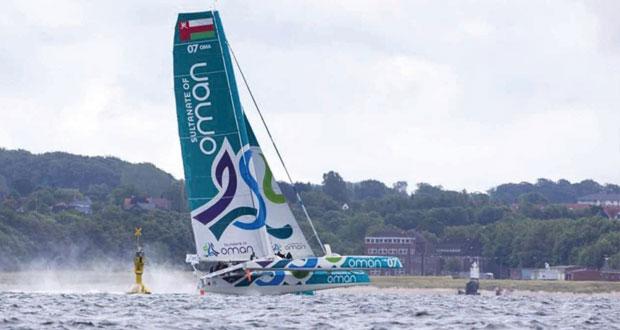 """القارب العماني """"مسندم"""" يواصل استعداداته للمشاركة في أسبوع كيل بألمانيا"""