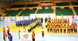 الشؤون الرياضية تحتفل بافتتاح فعاليات وبرامج معسكر شباب الأندية بمحافظة مسقط