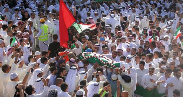 الكويت تشيع ضحايا الإرهاب وتشرع في التحقيقات