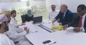 أمين عام اتحاد الجامعات العربية يتعرف على تجربة المركز الوطني للأعمال