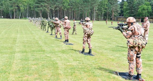 فريق قوات السلطان المسلحة للرماية يواصل تحقيق المراكزالأولى